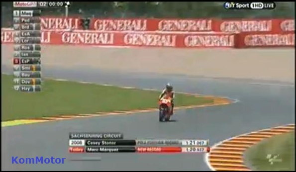 Marquez Ukir New Record