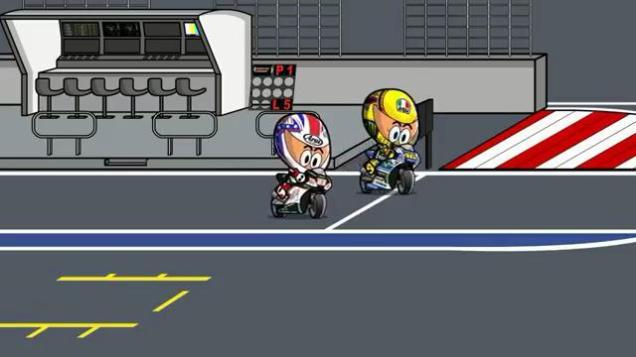 Rossi Start Dari Pit