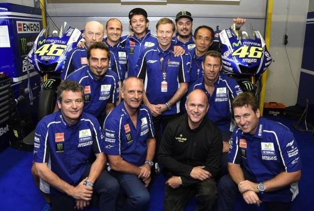 Valentino Rossi Perpanjang Kontrak Dengan Yamaha Sampe 2016