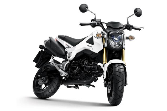 Honda MSX 125 White