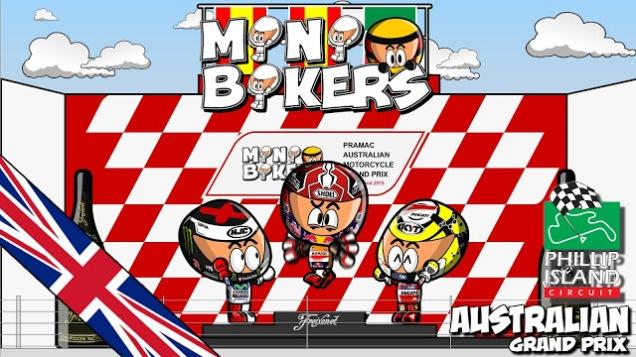 Kartun MotoGP Australia 2015