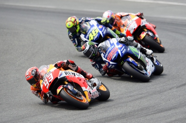Perebutan Gelar Juara Dunia MotoGP 2015