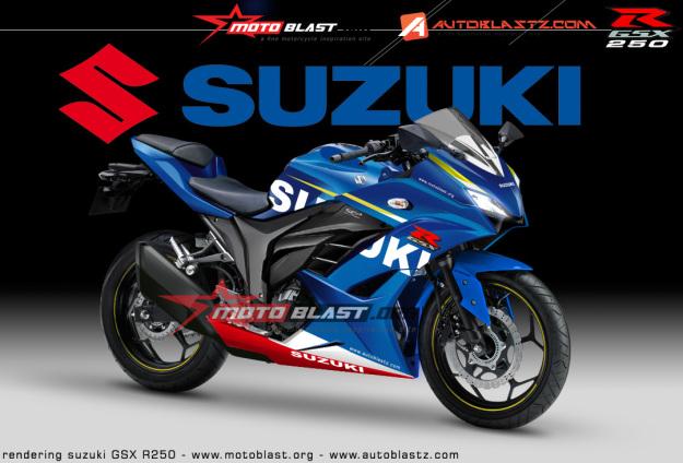 Renderan Suzuki GSX-R250