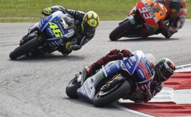 Battle MotoGP Sepang 2014