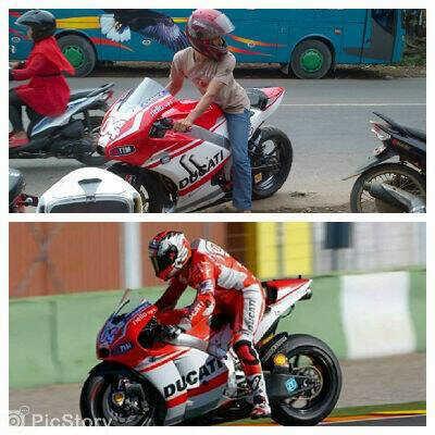 Yamaha Byson-Ducati GP15, Mirip Bingit...!!!