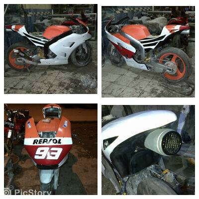 Proses Pengerjaan Tiger Revo Livery Marc Marquez