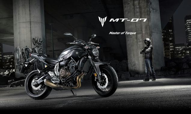 Yamaha MT-07 Ini baru knalpot... :cool: