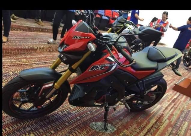Yamaha M-Slaz alias MT-15 Merah